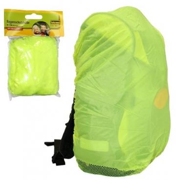 Schulranzen Regenschutz gelb