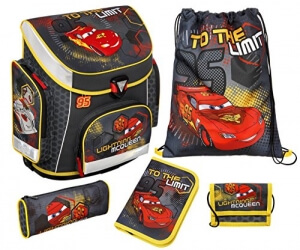 Cooler Disney Cars Kinderheld Schulranzen Set