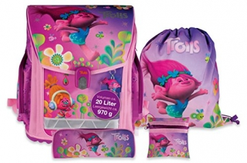 2e045ba6cfd9c Trolls Schulranzenset 12-teilig STYLEX pink   violett ...